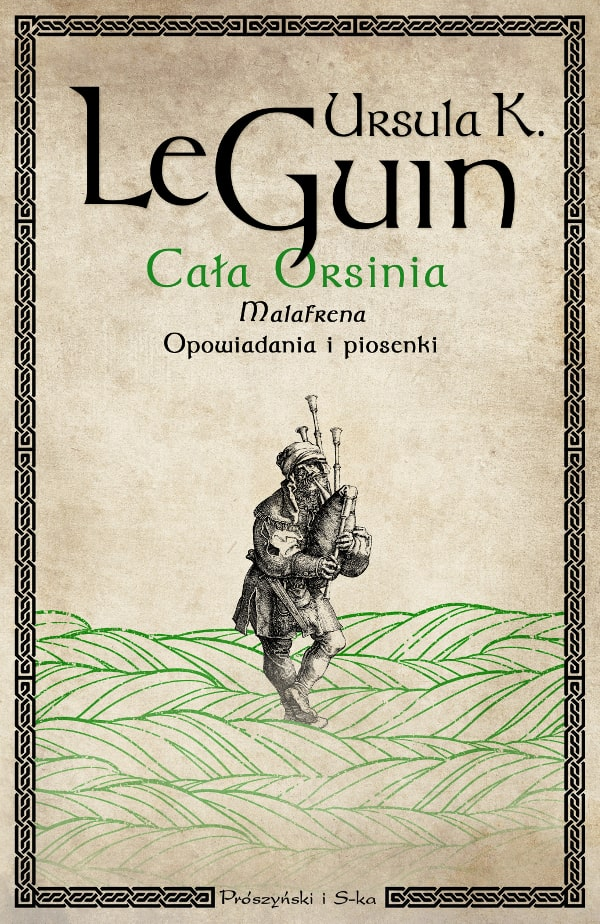 okładka książki Cała Orsinia Ursula Le Guin