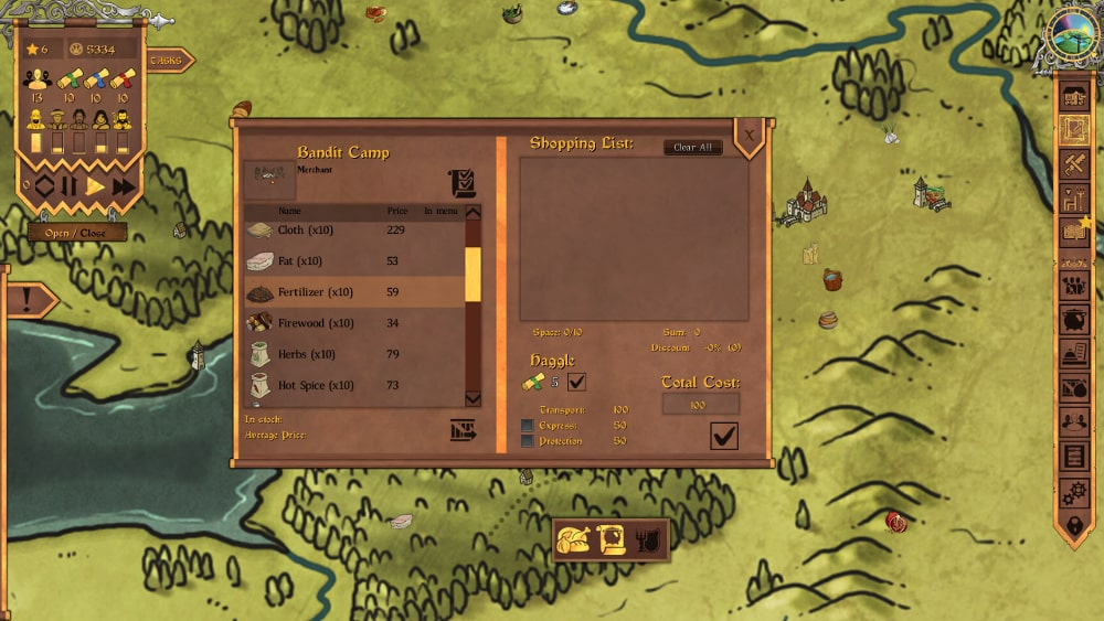 Screen z gry Crossroads Inn