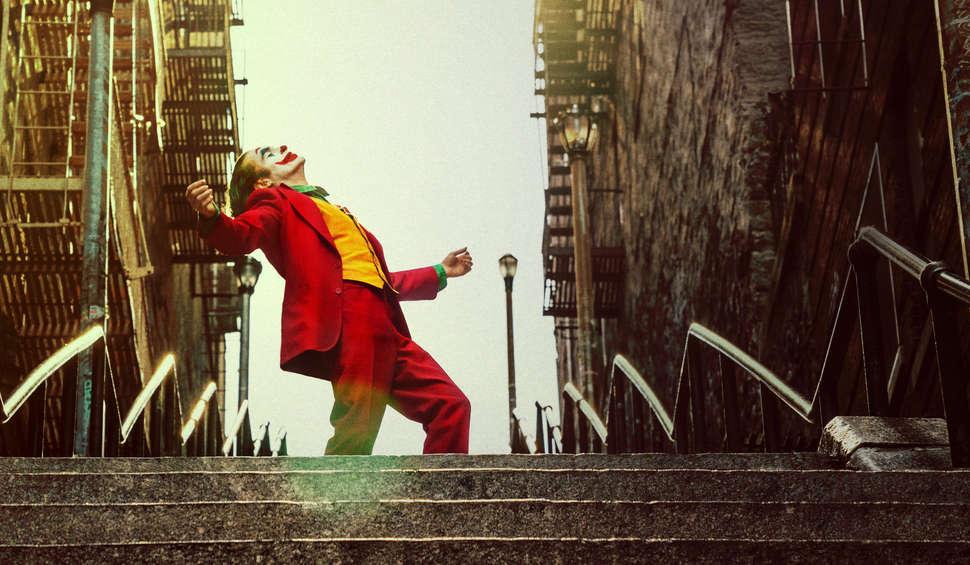 Joker 2019 słynny taniec na schodach