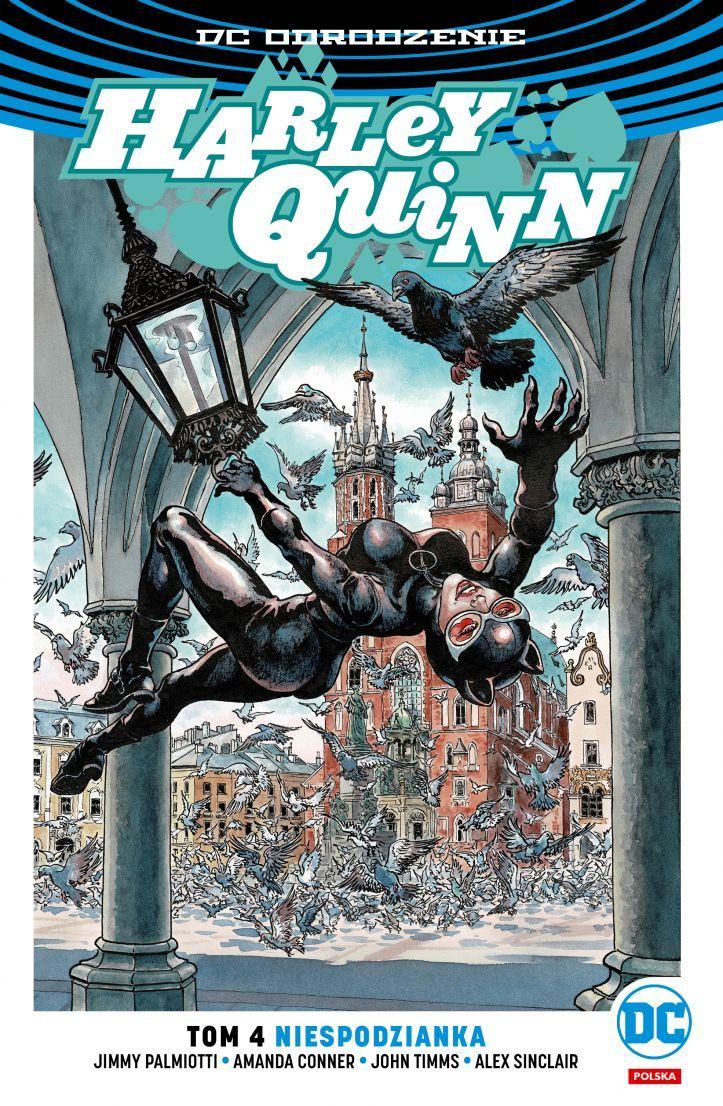 DC_Odrodzenie_Harley_Quinn_Niespodzianka_tom_4_polska_okładka_Catwoman_Kraków