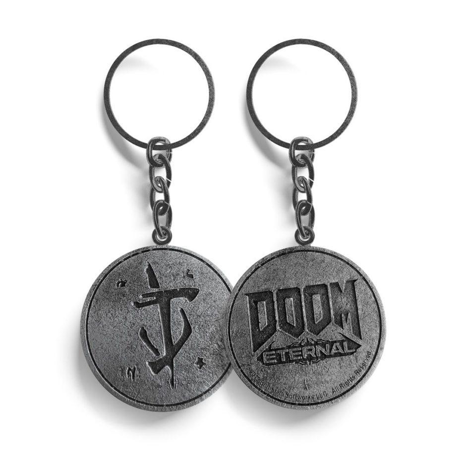 Doom Eternal Keyring