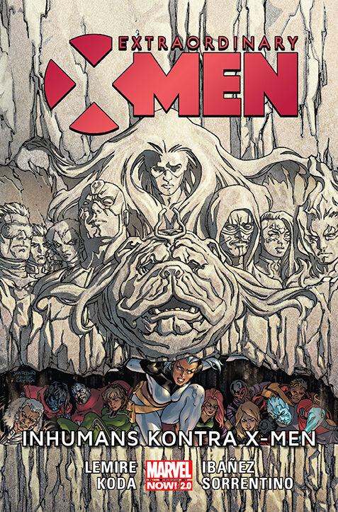 EXM Inhumans kontra XMen.72