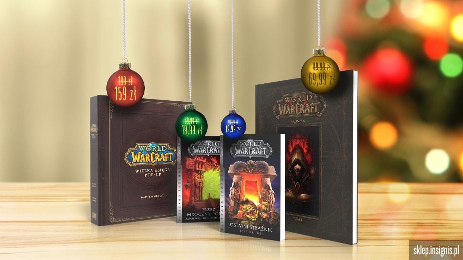 Wydawnictwo Insignis World of Warcraft świąteczna promocja