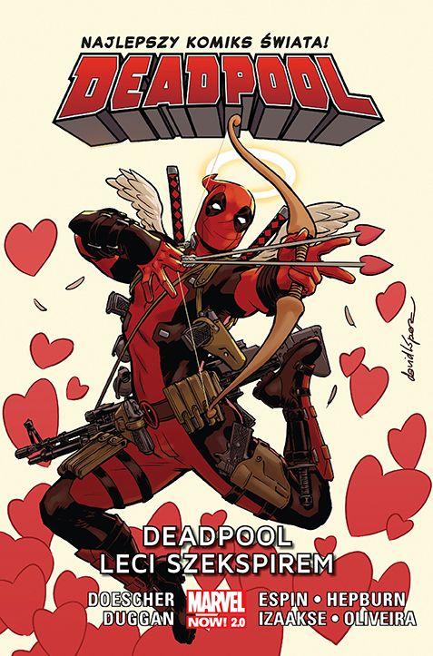 Deadpool Shakespeare okladka.72