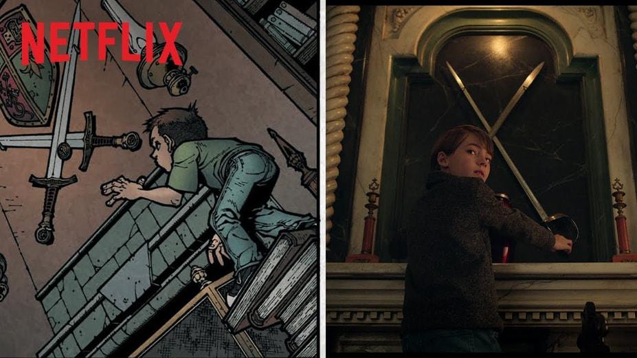 "Joe Hill i Gabriel Rodriquez o powstaniu adaptacji komiksu ""Locke and Key"""
