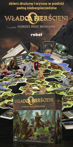 Gra planszowa Władca pierścieni od wydawnictwa Rebel