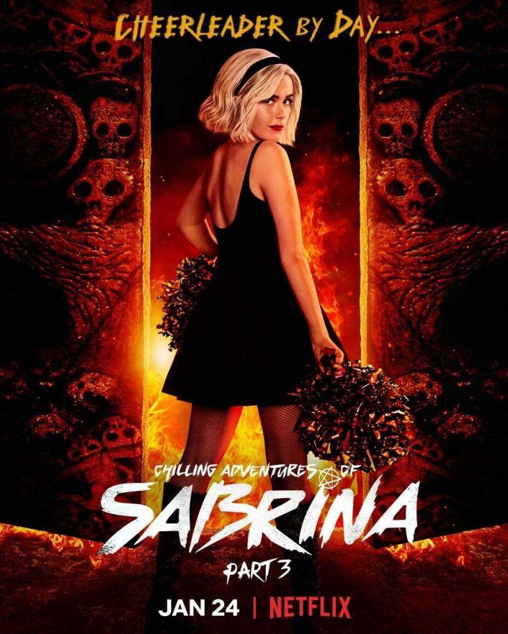 plakat 3 sezonu serialu Chilling Adventures of Sabrina od Netflixa