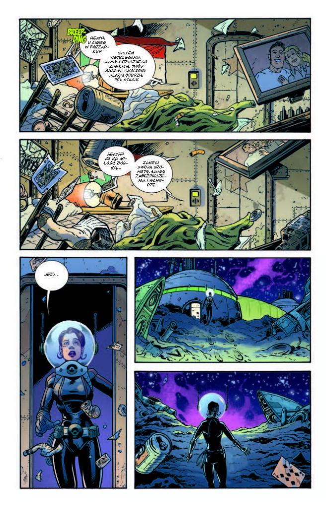 Komiks Fear Agenttom strona 201