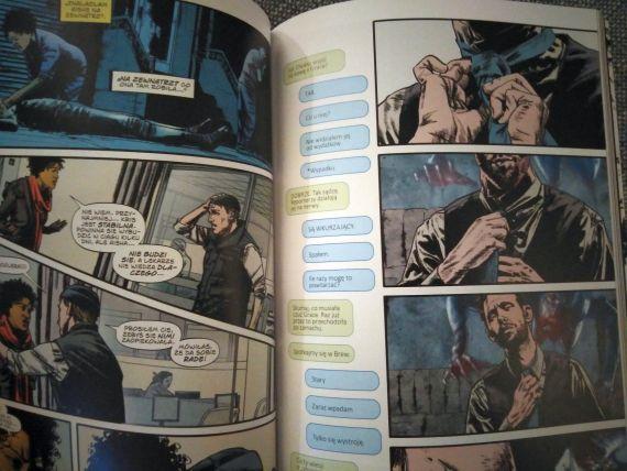 Infidel komiks przykładowe strony
