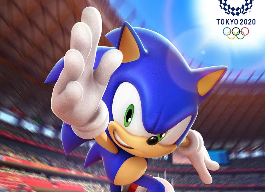 Sonic na Igrzyskach Olimpijskich: Tokio 2020