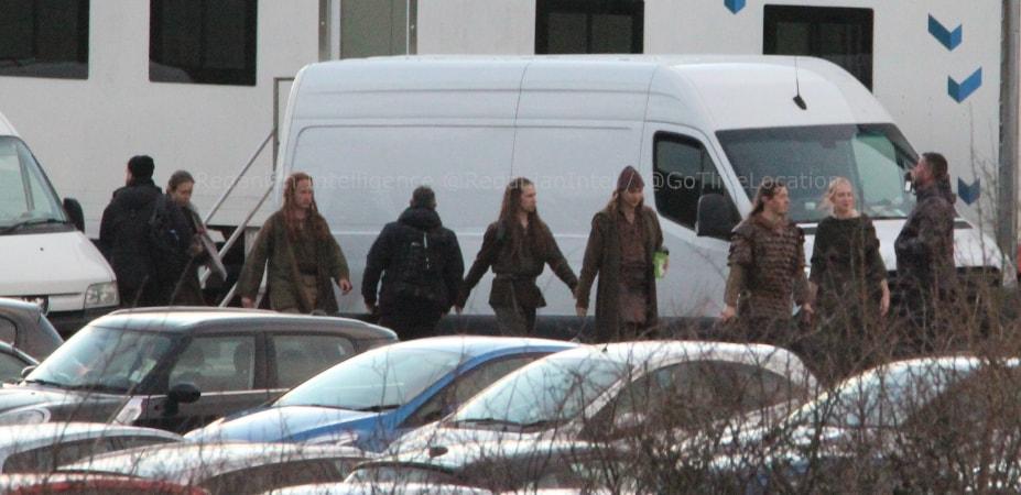 armia elfów na planie 2 sezonu serialu Wiedźmin