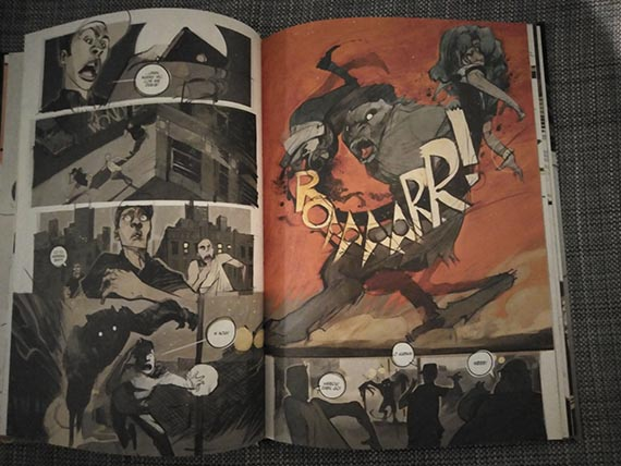 Dozorca komiks przykładowe strony