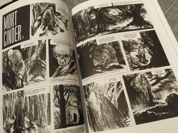 """""""Mort Cinder"""" – przykładowe strony komiksu"""