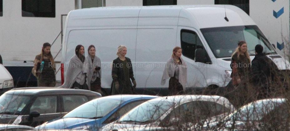 armia elfów na planie 2 sezonu serialu fantasy Wiedźmin