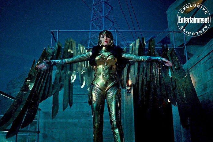 Nowe szczegóły dotyczące złotej zbroi Wonder Woman
