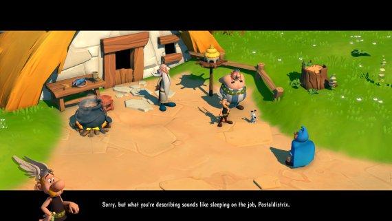 Asterix wioska