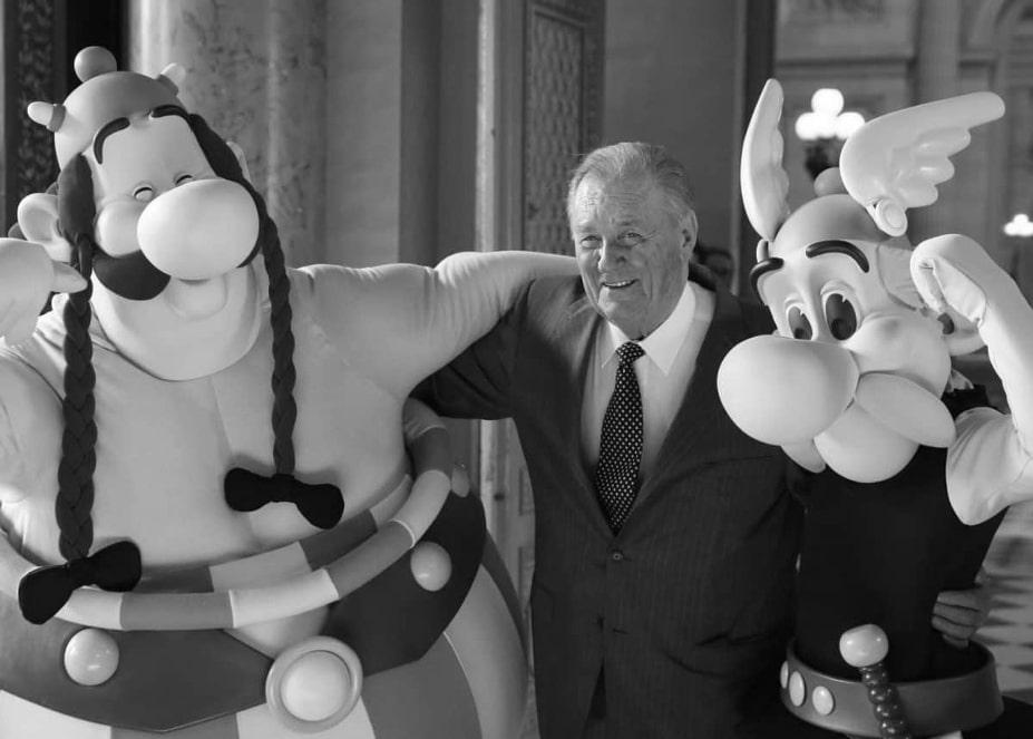 """W wieku 92 lat zmarł Albert Uderzo, współtwórca """"Asteriksa"""""""