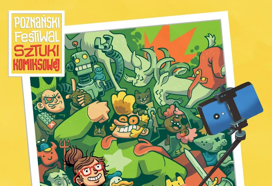 Poznański Festiwal Sztuki Komiksowej będzie trochę później