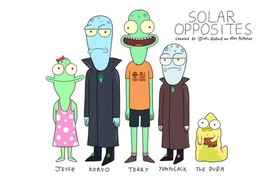 """""""Solar Opposites"""": ukazał się zwiastun nowego serialu od twórcy """"Ricka i Morty'ego"""""""