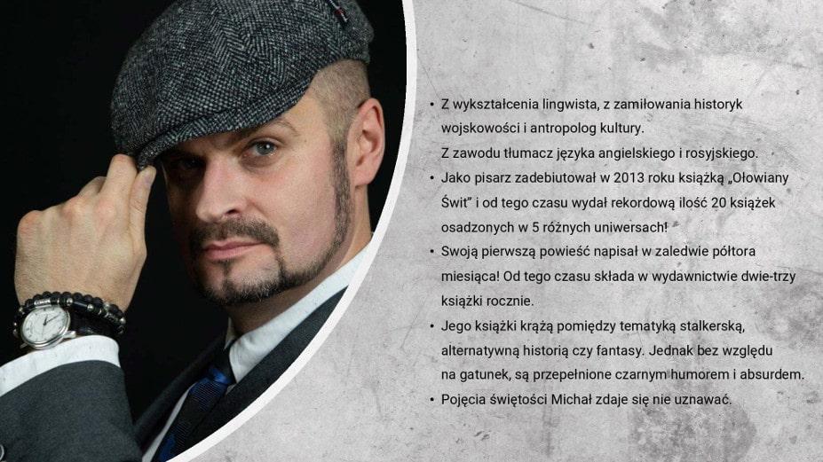 sybirpunk Michał Gołkowski o autorze