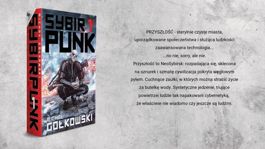 sybirpunk Michał Gołkowski opis książki