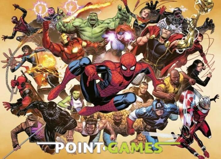 Komiksy Marvela w ofercie sklepu PointGames