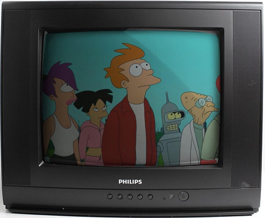 futurama serial animowany