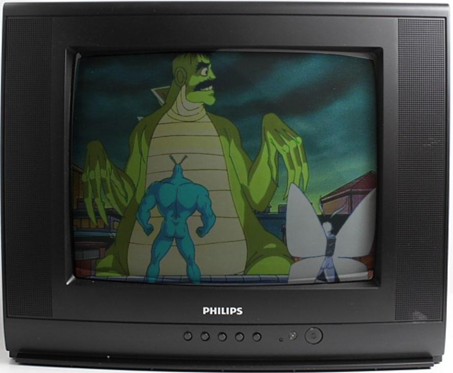 kleszcz, serial animowany