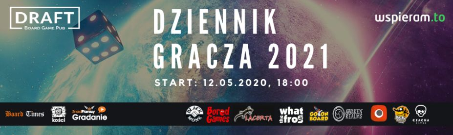 Trwa zbiórka na Dziennik Gracza 2021