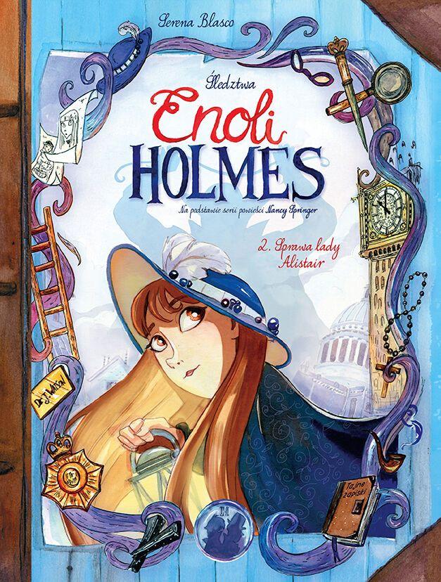 Enola Holmes 2 okladka.72