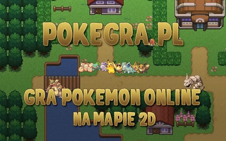 Gra pokemon przez przeglądarkę