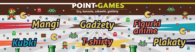 Sklep Point games - retro gry, gadżety, koszulki