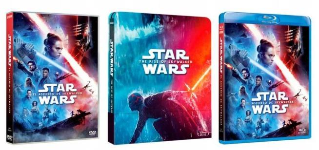 Gwiezdne wojny: Skywalker. Odrodzenie dostępne na Blu-ray i DVD