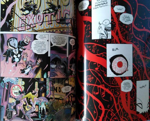 """""""Umbrella Academy. Suita apokaliptyczna"""" - fragment planszy komiksu"""