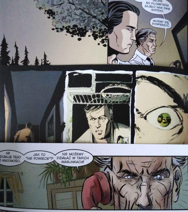 """""""Wydział 7"""" porównanie rysunków z trzech pierwszych zeszytów"""