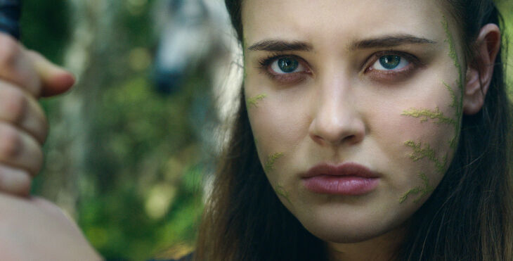 CURSED (L to R) KATHERINE LANGFORD as NIMUE in episode 108 of CURSED Cr. COURTESY OF NETFLIX © 2020
