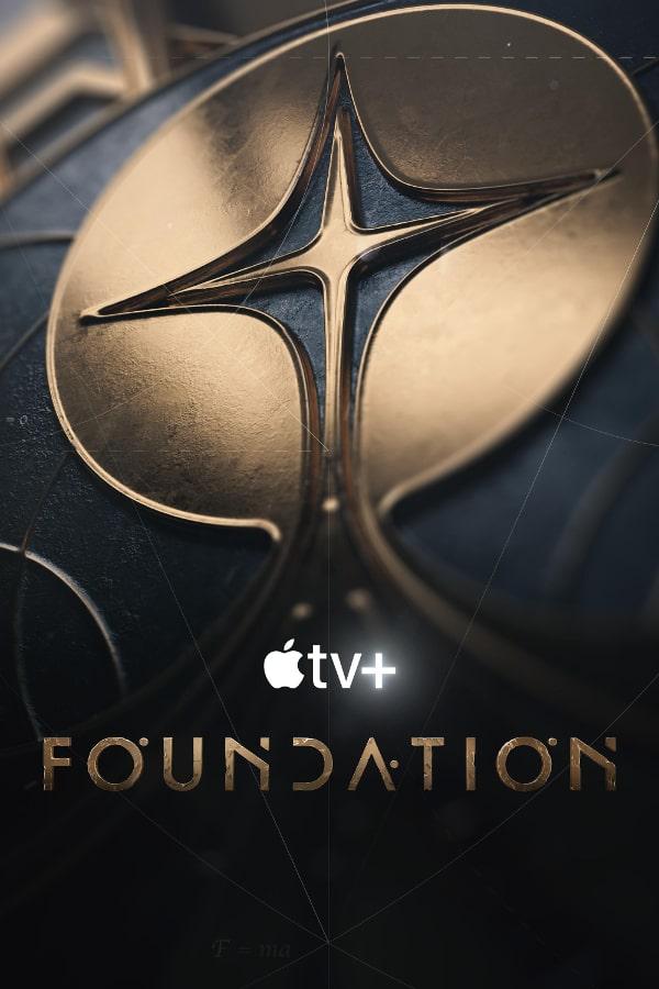 Plakat serialu Fundacja (Foundation Isaac Asimov)