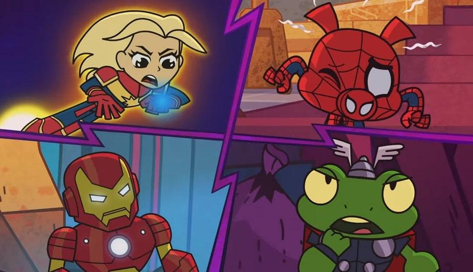 """3 pierwsze odcinki animacji """"Marvel Battleworld"""" są już na YouTube!"""
