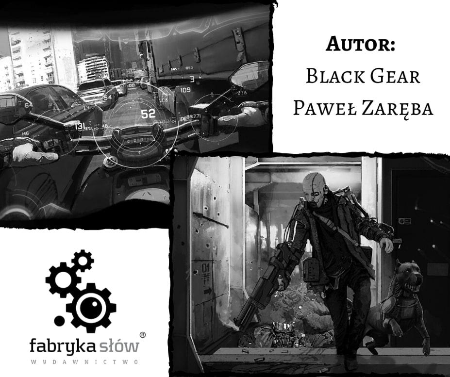 ilustracje Sybirpunk vol 2 Black Gear Paweł Zaręba