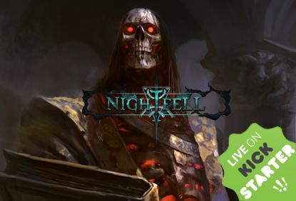 Nightfell RPG już teraz na kickstarterze!