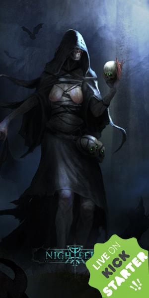 Zbiórka Nightfell RPG ruszyła na kickstarterze!