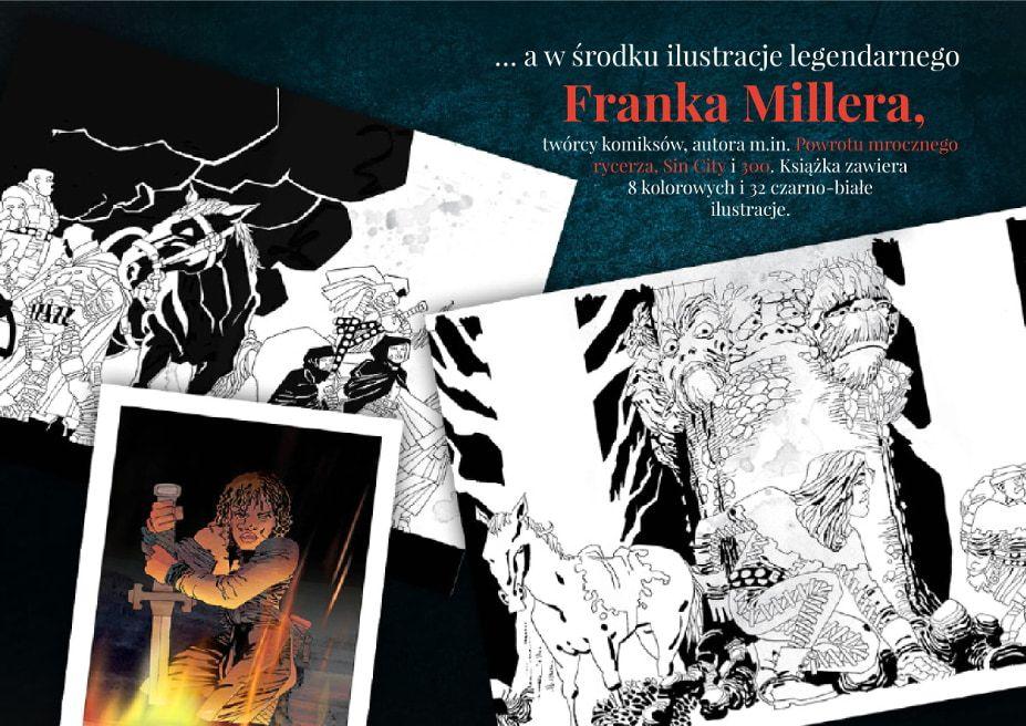 Przeklęta ilustracje Frank Miller