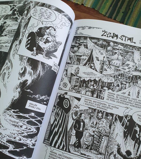 Żywa stal - recenzja komiksu