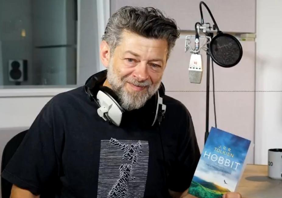 """Zapowiedziano audiobook """"The Hobbit"""" czytany przez Andy'ego Serkisa!"""