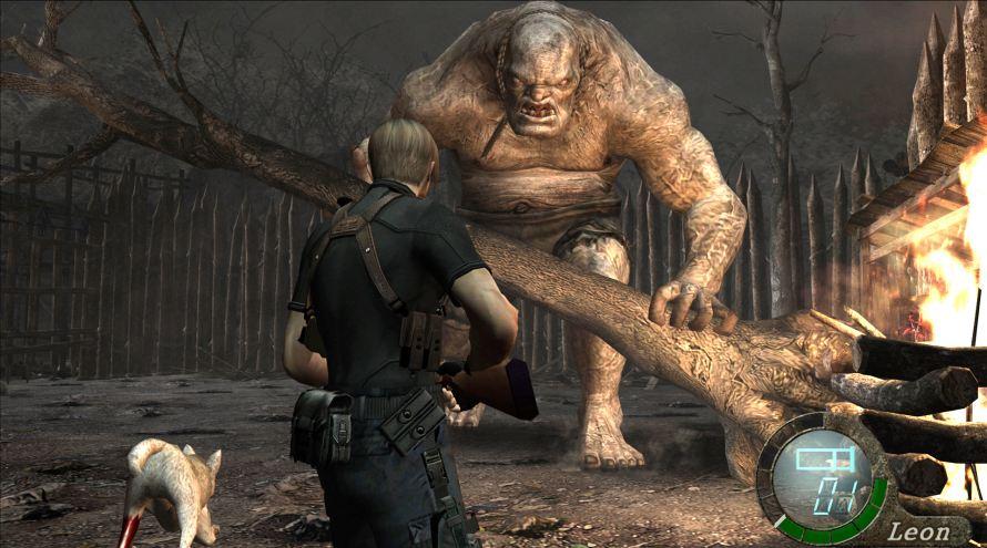 Resident Evil 4 boss