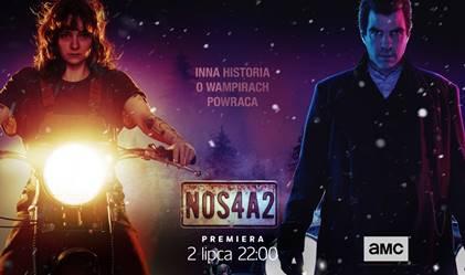 NOS4A2 premiera w czwartek 2 lipca o 22:00 w kanale AMC