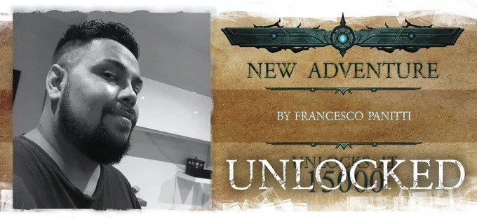 nightfell RPG Francesco Panitti new Adventure