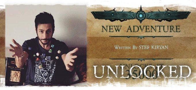 nightfell RPG Stef Kiryan new Adventure