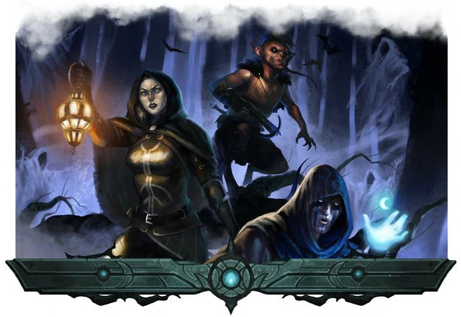 Postacie z Nightfell - horror fantasy RPG