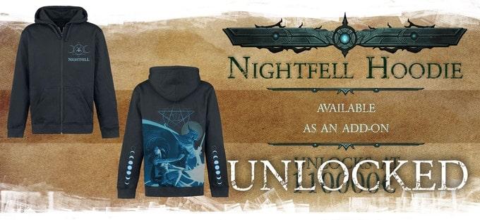 Nightfell RPG bluzy z kapturem